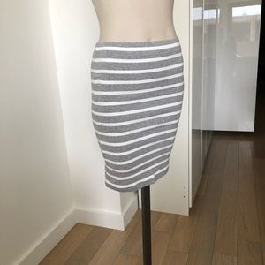 NWOT Gap cotton Stretch Skirt